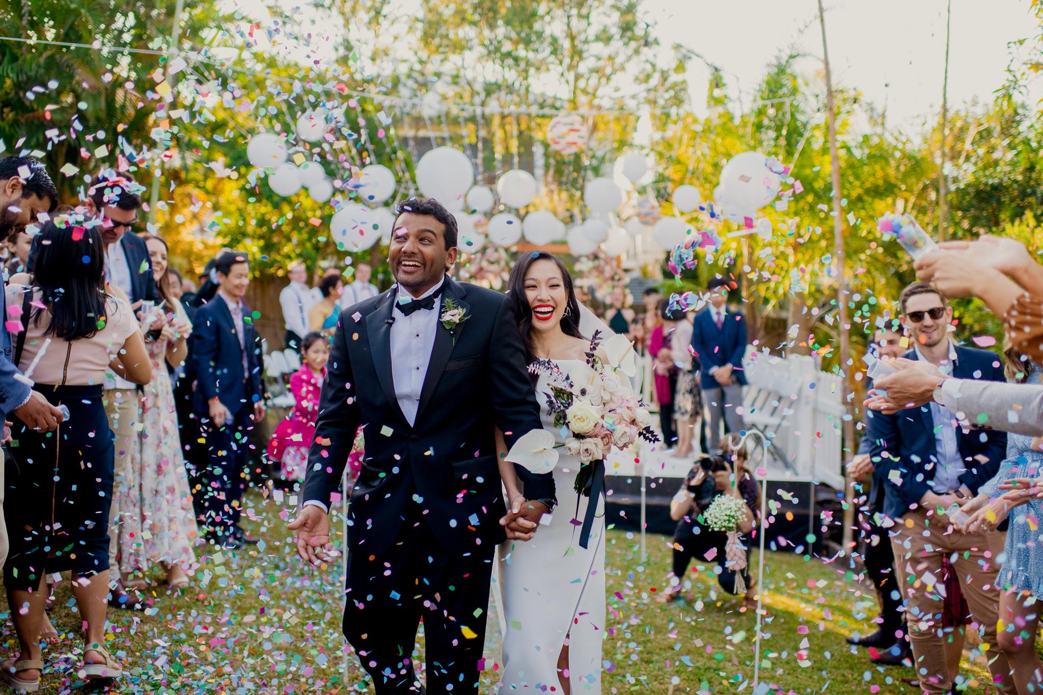 DIY Backyard Wedding – Kim & Jono